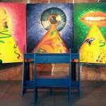 Installation: Altar der edlen Sinne