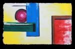 nothing happens  (ca. 100 x 160 cm)